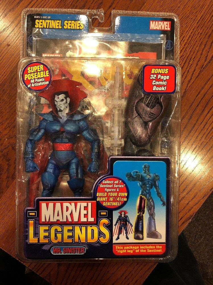 Marvel Legends Mr. Sinister Sentinel Series Toybiz