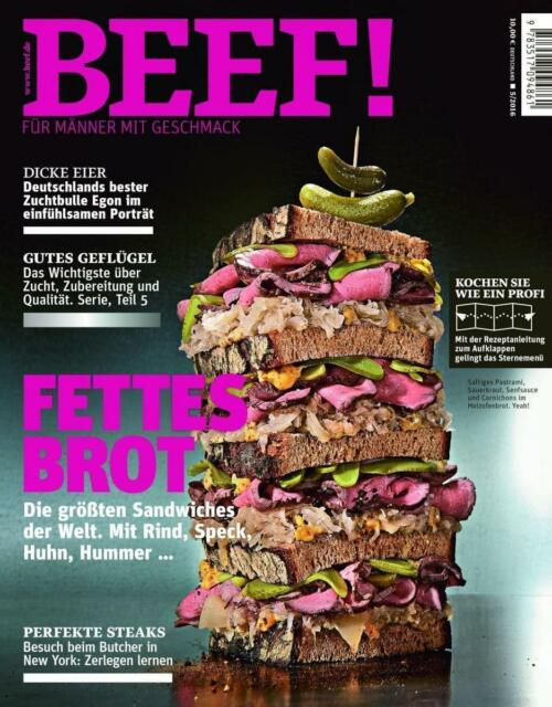 BEEF! - Für Männer mit Geschmack (2016, Taschenbuch)