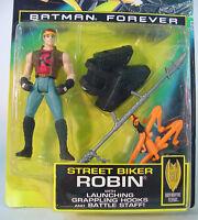 Kenner Batman Forever Action Figure Street Biker Robin 1995 Movie