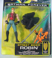 Kenner Batman Forever Action Figure Street Biker Robin 1995 Movie