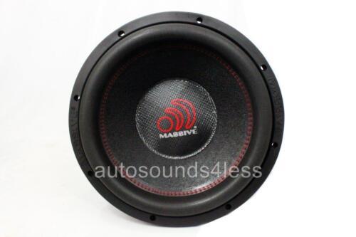 Massive Audio HIPPO XL 122R 6000 Watt 12 Dual 2 Ohm Car Audio Subwoofer New XLR