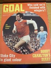 20/12/1969 Goal Soccer Weekly Magazine: No 072 - Who said we'd finished with win