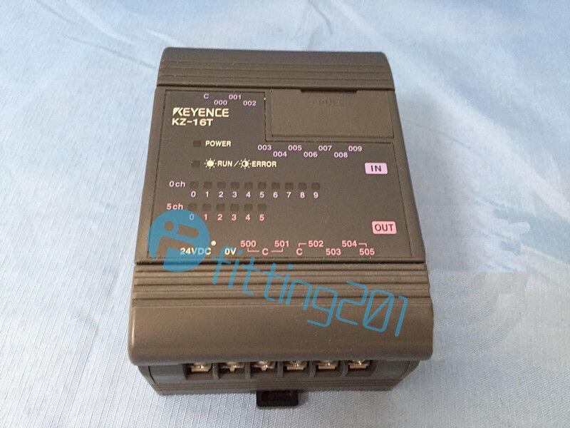 Keyence PLC KZ-16T KZ-16T Used Tested