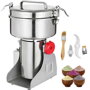 1000G Electric Herb Grain Mill Grinder Flour Machine Medical Clinic Grinding