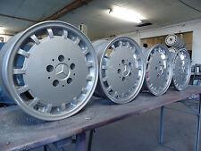 4x MB W201 W124 7x15 ET41 Sportline Alu 200 220 230 250 260 300 320  Gullideckel