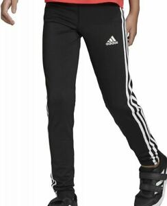 GIRLS-ADIDAS-TRAINING-3-STRIPES-LEGGINGS-BLACK-BNWT-AGES-7-14-LAST-FEW