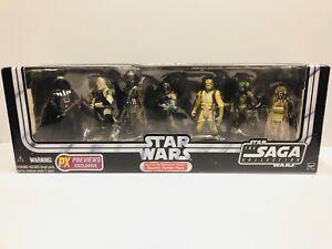 Collection Star Wars Saga Chasse au pack de chasseurs de primes Millennium Falcon Rare