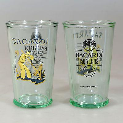 Bier, Wein & Spirituosen Bar & Spirituosen Konstruktiv 6 Stück Bacardi Heritage Rum Glas Edition 3 How Smooth 29cl Neu Chinesische Aromen Besitzen