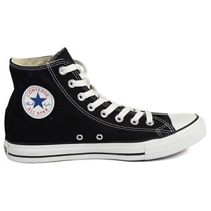 Scarpe Converse All Star Chuck Taylor 30 Donna Junior Alte Nero 3J231