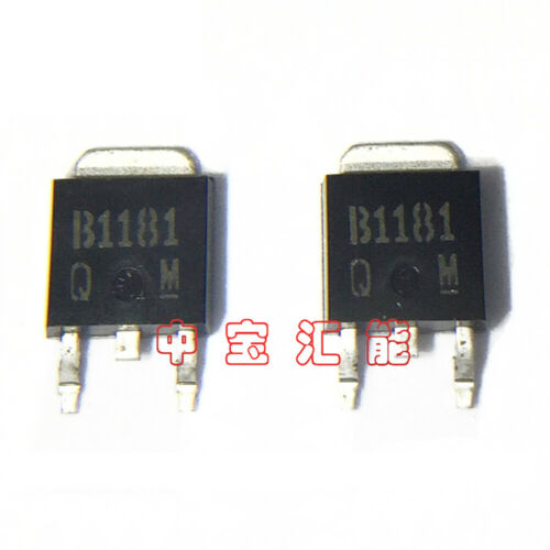 50PCS 2SB1181 Power Transistor Encapsulation:TO252