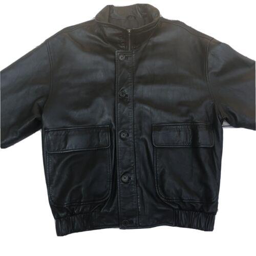 Mens Coach Leather Jacket Size Medium Soft Leather