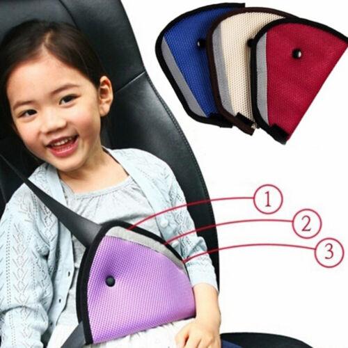 Kids  Seat Belts Triangle Shoulder Harness Strap Holder Car Child Safety Cover