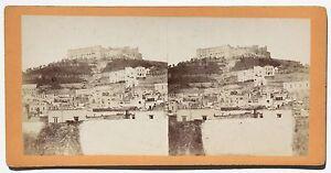Napoli Italia Stereo Albumina Ca 1875