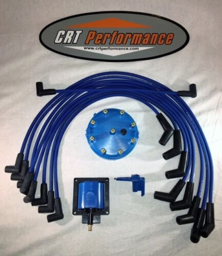 BLUE 1986-1995 FORD MUSTANG 5.0L 302 TUNE UP 48K Volt POWERBOOST UPGRADE KIT