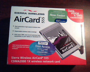 Sierra Wireless AirCard 555 Last