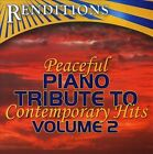 Peaceful Piano Tribute To Contemporary Hits, Vol. 2 by The Piano Tribute Players (CD, May-2010, CC Entertainment)