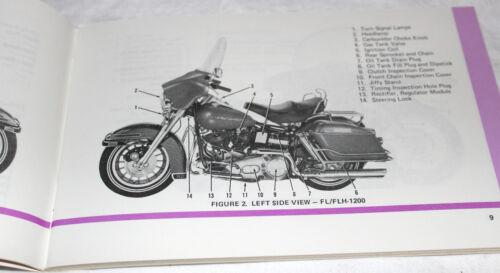 Original Harley Davidson 1978 Shovelhead Owners Manual NOS #99460-78 NOS 51