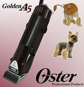 Oster Doré A5 2 Vitesses Machine À Cisailler Les Chiens 45 W