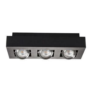 Belle Del Shop Display Lumière 3 Spot Coffret Plafond Lumière Surface Mounted Downlight Tilt-afficher Le Titre D'origine