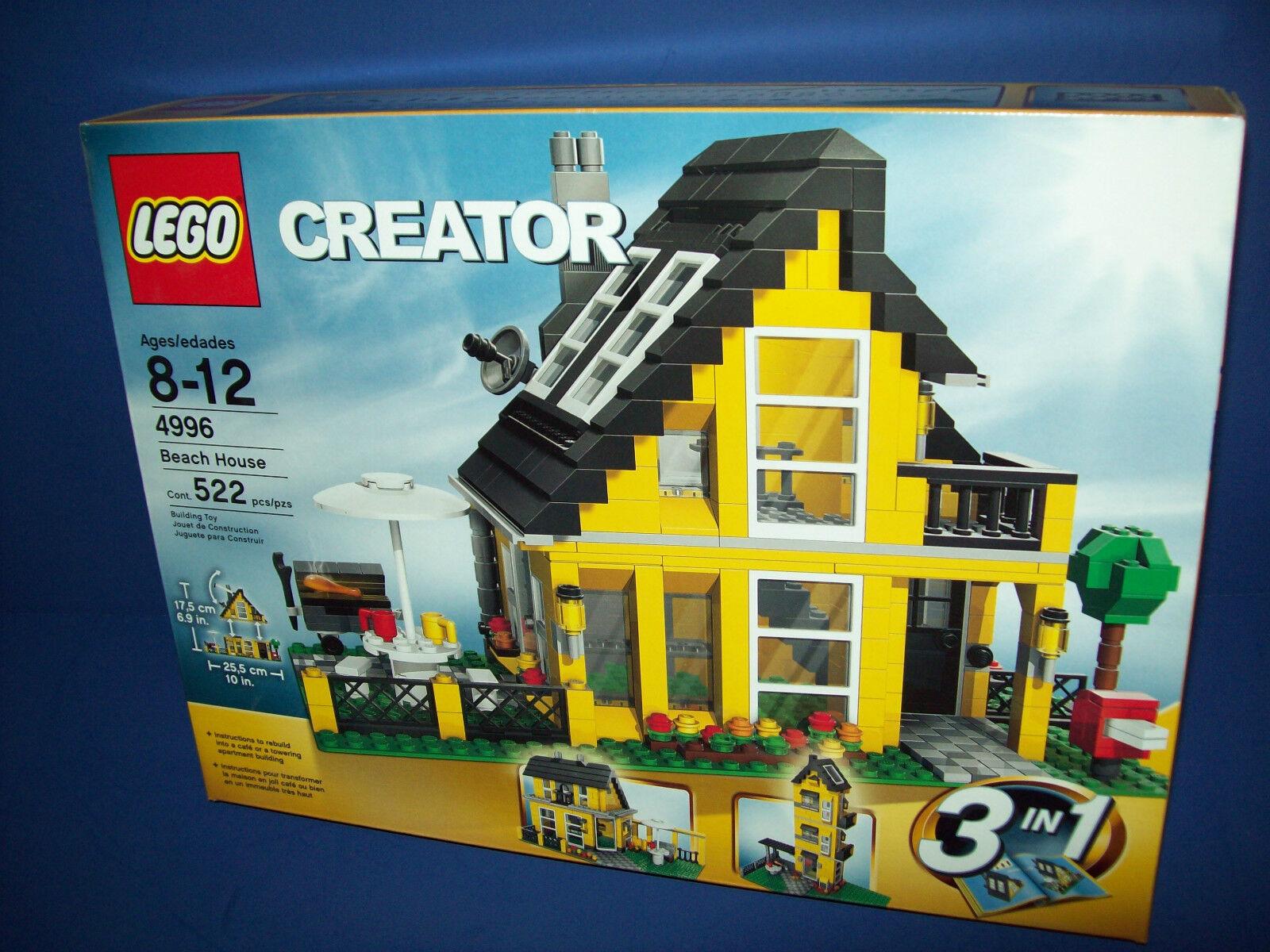 LEGO 4996 BEACH HOUSE NISB Creator RetiROT (3 in 1 lego)