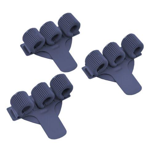 3 X Triple Metall Stifthalter mit Tasche Clip Ideal für Ärzte//