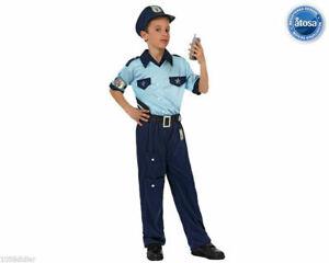 Vestito Carabiniere Bambino.Costume Carnevale Poliziotto Vestito Bambino Carabiniere Taglia 5 6 Anni Atosa Ebay