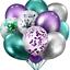 10-20-chrome-Ballons-Metallique-Latex-Pearl-12-034-Helium-Ballon-Fete-D-039-Anniversaire-UK miniature 3