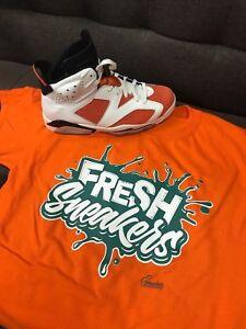 Shirt Match Jordan 6 Gatorade Win Like Mike - Fresh Sneakers Tee  1bf1d40b4