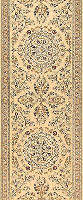 Orientteppich Feiner Handgeknüpfter Perserteppich Läufer Nr. 4222 (458 x 92)cm