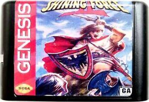 Shining Force II (1994) 16 Bit Game Card For Sega Genesis / Mega Drive System