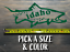 Idaho Sticker Decal DIE CUT Fly Fishing Line Trout Rainbow Hunter Sage Simms XO