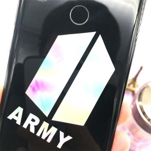 Kpop EXO GOT7 Cute Laser Sticker for Mobile Phone Laptop Twice IZONE DIY Sticker