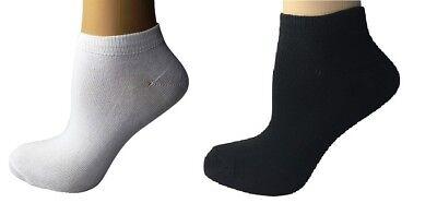 Sneaker Socken 38-41 Freizeitsocken Sneakersocken Damen und Herren 12 Paar