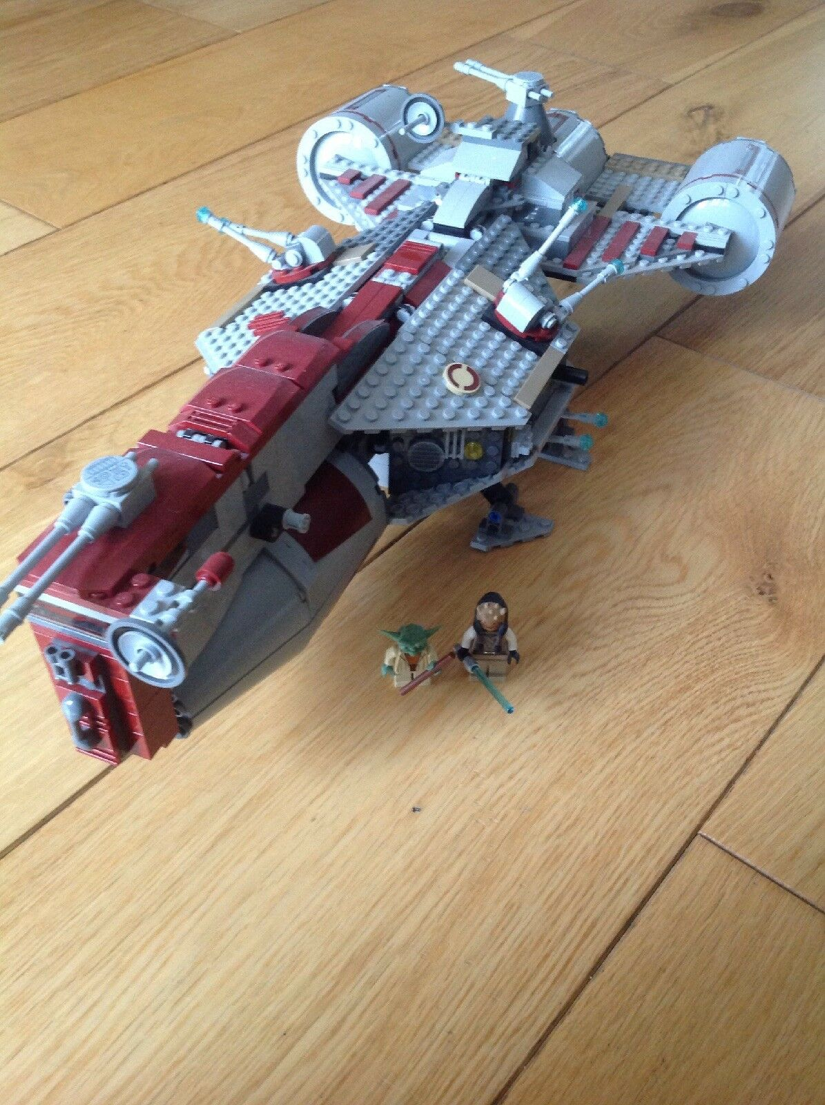 LEGO Star Wars Republic Frigate Set 7964 With Yoda & Eeth Koth Minifigures