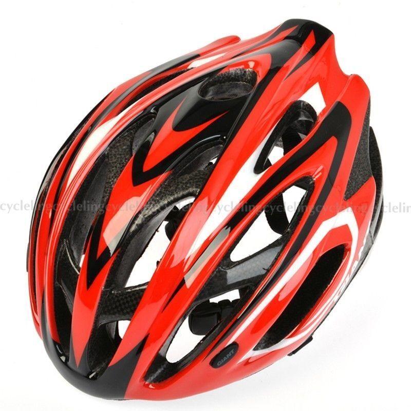GIANT Helmet Road Bike MTB Cycling Helmet Helmet Helmet Talla S M 51cm-54cm rojo Ares 2cb733