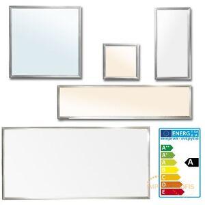 led panel lampe deckenleuchte pendelleuchte deckenlampe einbau leuchte ultraslim ebay. Black Bedroom Furniture Sets. Home Design Ideas