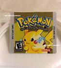 Pokemon Yellow Version Cartridge Replacement Label Sticker for Original Gameboy