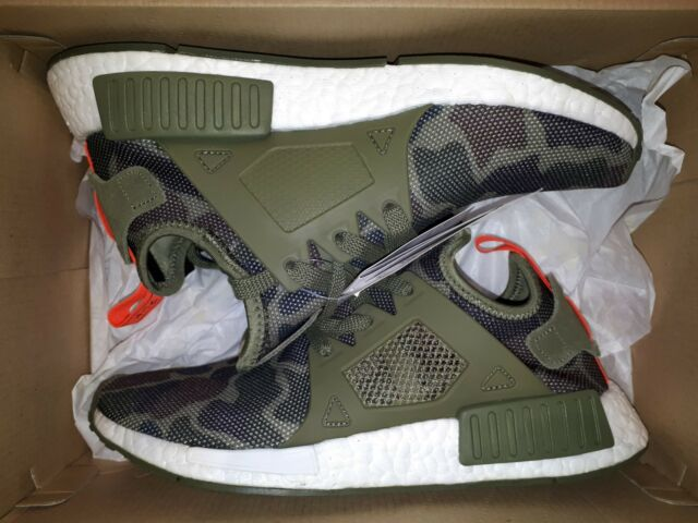 63533867589c1 adidas NMD Xr1 Duck Camo Olive Cargo UK 4-7 Boost Nomad BA7232 ...