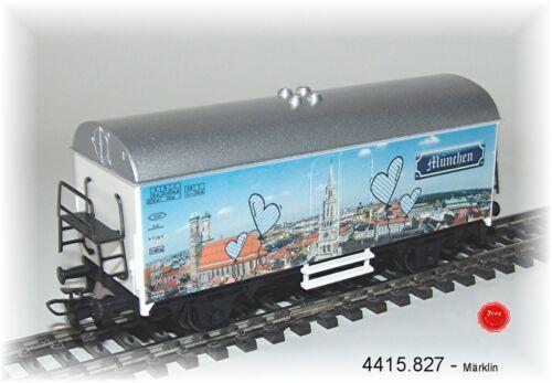 """Märklin 4415.827 Kühlwagen /""""München/"""" #NEU in OVP#"""