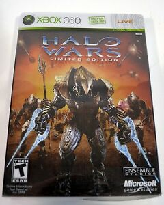 Details about Halo Wars Limited Edition (Xbox 360, 2009) Complete in Box  *No DLC*