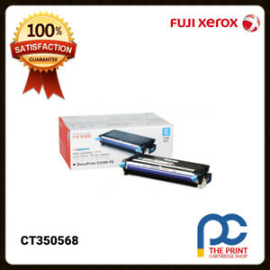 New-amp-Original-Fuji-Xerox-CT350568-Cyan-Toner-Cartridge-DocuPrint-C3290FS-6K