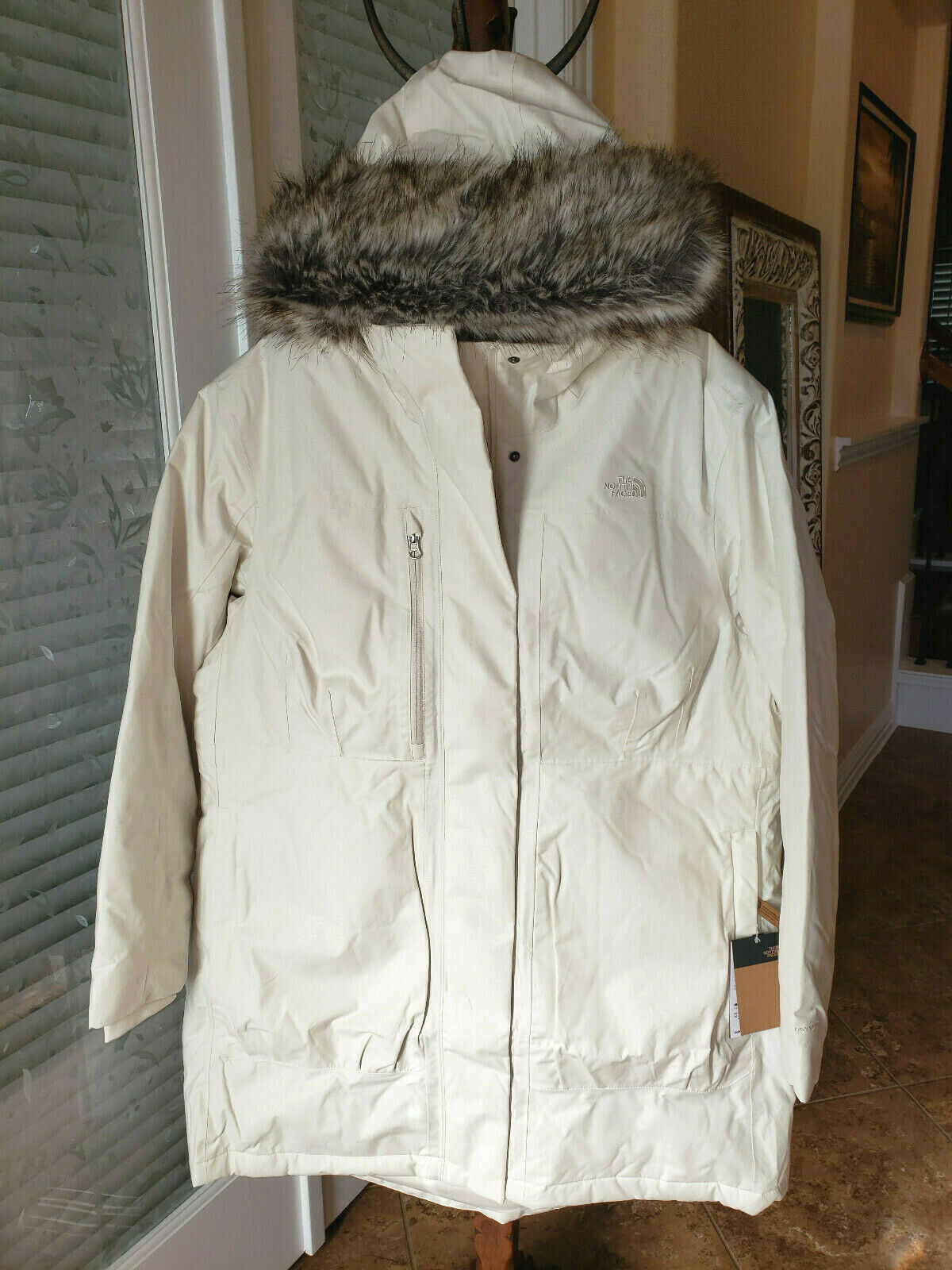 NEW Womens 2XL The North Face Downtown Parka - 550 Fill Power WHITE