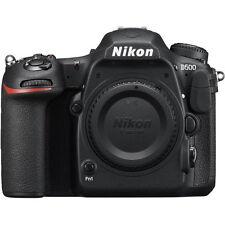 Nikon D500 Body 20.9MP DX DSLR Dual card slots WiFi Bluetooth Camera D-500 ~ NEW