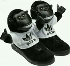 buy popular 963be 0d1ae Adidas Originals Jeremy Scott Hi JS Gorilla sneakers monkey shoes ObyO  V24424