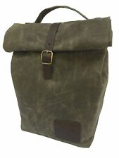 1eb9f7abdd4a Spruced Insulated Waxed Canvas Lunch Bag for Men, Women for Work. to