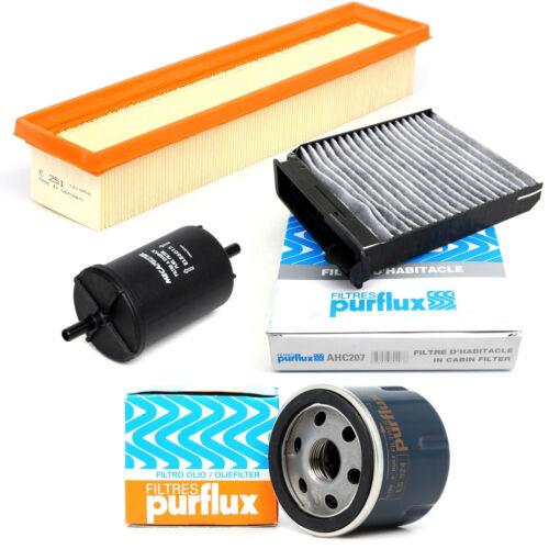 Paquete de filtro para Filterset Dacia Sandero Renault Clio II III modo Twingo II 1.2