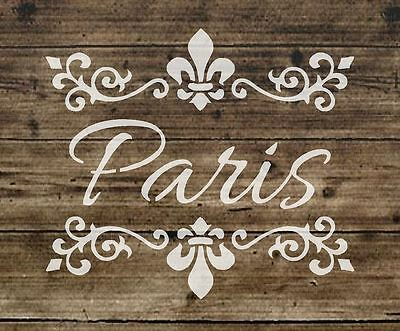 Stencil Shabby Chic FRENCH VINTAGE furniture ART CRAFT 190 micron MYLAR A5 161