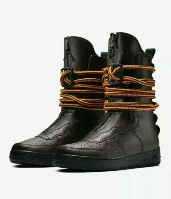 Nike Air Force One SF Af1 Hi Baroque Brown Boot Aa1128 204 Sz 11