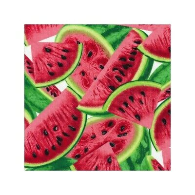 Watermelon Fruit 100/% Cotton Fabric Material BY HALF METRE