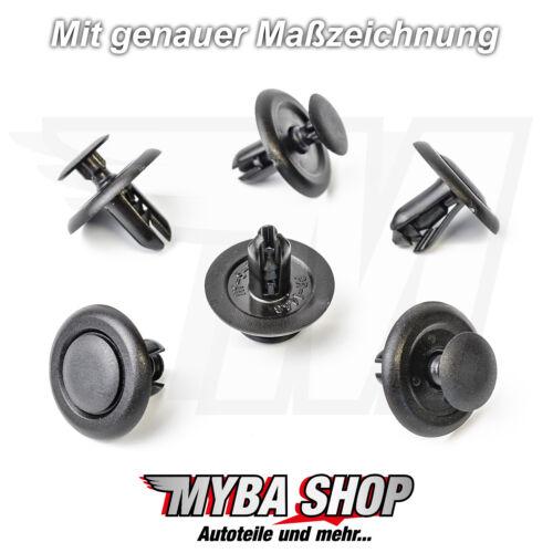 10x Verkleidung Befestigungs Clips für Subaru Suzuki Honda Toyota909130013